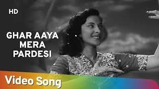 Ghar Aaya Mera Pardesi - Nargis - Raj Kapoor - Awaara - Lata - Manna Dey - Evergreen Hindi Songs