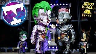 DISSECTING BATMAN AND JOKER!  | Mighty Jaxx 4D XXRAY figures