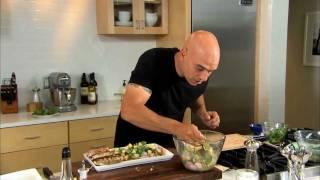 Ham & Cheddar Salad Recipe By Chef Michael Symon