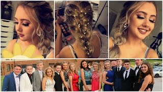 One of Jasmine Clough's most viewed videos: PROM VLOG 2016 | Hair, Makeup & Dress | Jasmine Clough