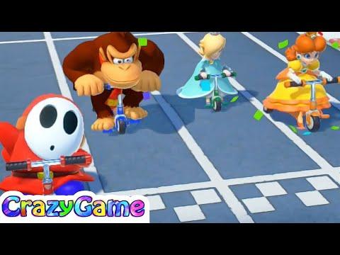 Download Super Mario Party Mariothon 1 Peach Vs Wario Vs Shy