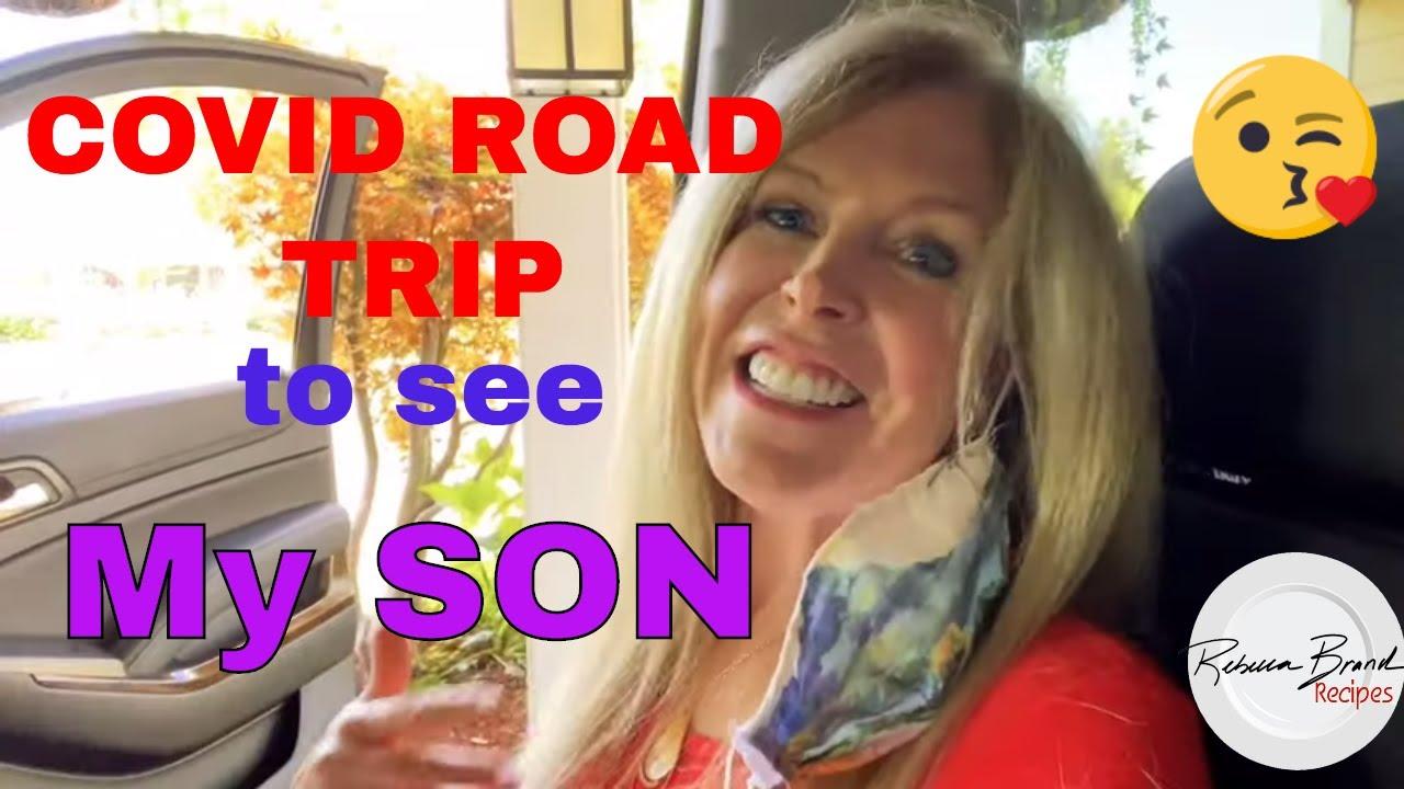 COVID-19 ROAD TRIP    USA Coronavirus NEWS Update   How my Millennial SON BEHAVES