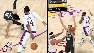 NBA 2k19 MyCAREER - DOWN TO THE WIRE! Javale McGee SHAQTIN! w/ Game on Line! 6x Ankle Breakers! Ep.9