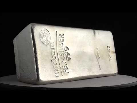 Umicore 5000 gram Silver Bar 999.0