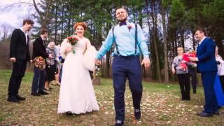 Антон+Маша. 17.04.2015 Свадебная фотосессия в Харькове. Віездная церемония на природе.