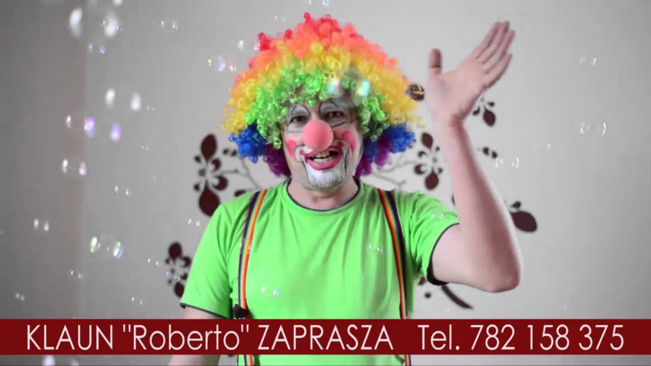 Znalezione obrazy dla zapytania: bal karnawałowy  klaun roberto