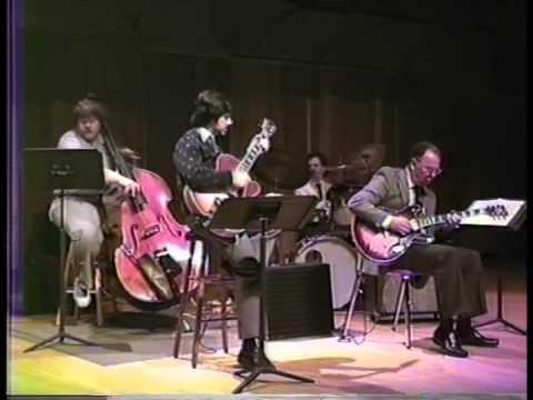 Jack Peterson guitarist recital with BGSU Ohio faculty Jan 1989