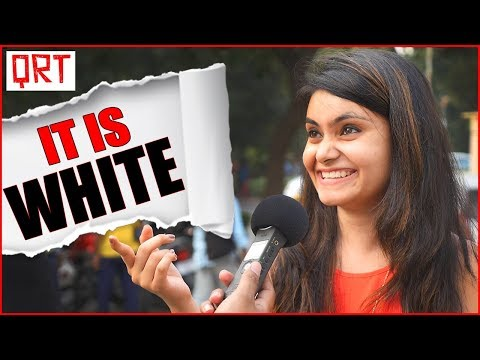 Thumbnail: Is it WHITE ? Funny Riddles and IQ Test | GK Quiz & Trick Questions | Quick Reaction Team