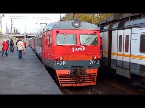 Электропоезд ЭР2Р-7013 переехала из депо Куровская в Лобню!