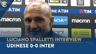UDINESE 0-0 INTER | LUCIANO SPALLETTI INTERVIEW:
