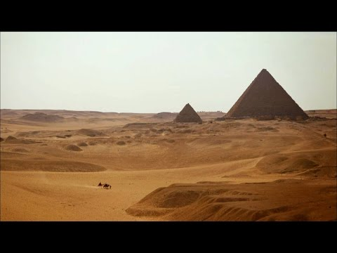 What the Great Pyramid of Giza Would've Looked Like When First Built: It Was Gleaming, Reflective White