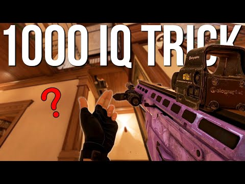 1000 IQ Nomad Trick + The New Way To Use Barbed Wire - Rainbow Six Siege