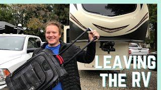 PREP FOR LEAVING THE RV || RV LIVING