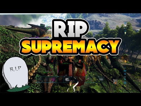 THE END OF SUPREMACY?! RIP ARKS BEST MEGA TRIBE!