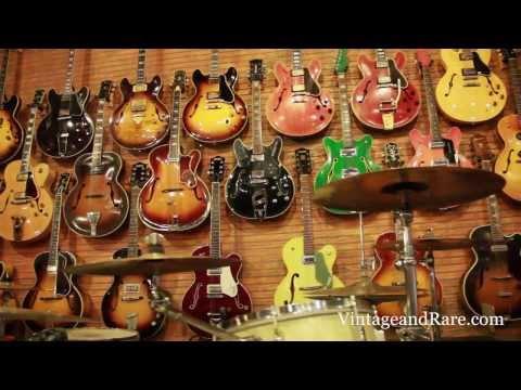 Ventura Music / Vintage Guitars & Drums / Store Tour / Vintage & RareTv