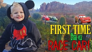 Repeat youtube video Michael's First FAST RIDE at Disneyland!!