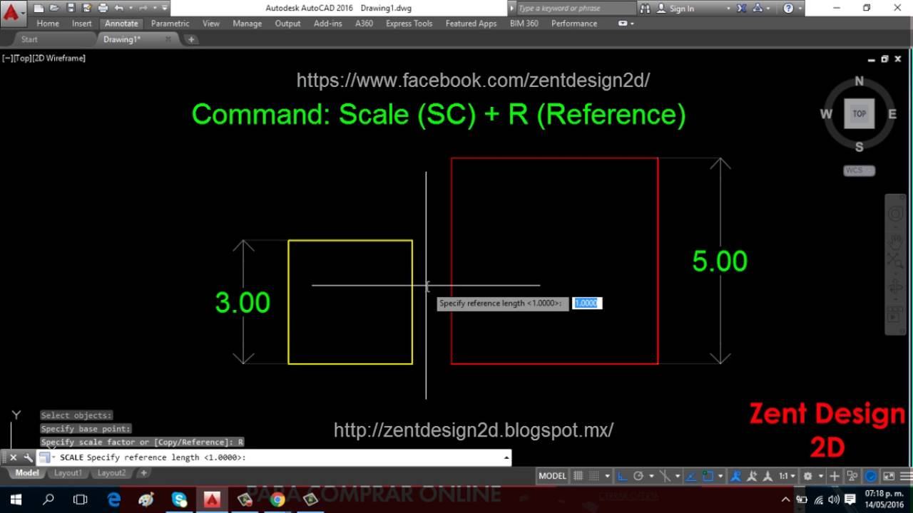 How to Scale in AutoCAD