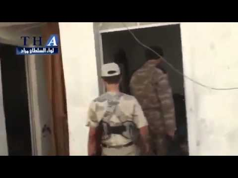 Syria Rebels Travel Through Edges of Liberated Zones of Aleppo  9-19-13