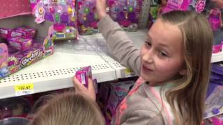 WE FOUND SHOPKINS AT WALMART!! Buying BLIND BAGS and MULTI PACKS