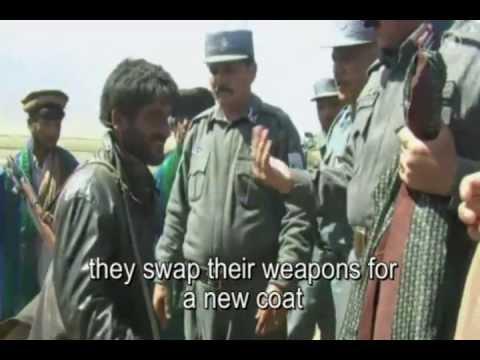Taliban swap guns for coats!