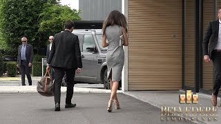 V.I.P Client at Brussels Airport with bodyguards - Belvédère Limousines Service S 10