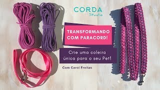 TRANSFORMANDO COM PARACORD! ⌘