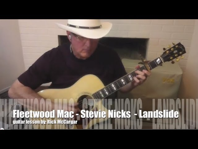Fleetwood Mac Guitar Lesson Landslide Inc Solo And Fingerpicking