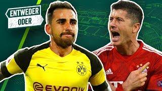 Lewandowski oder Paco Alcacer? Gnabry oder Sané? Liverpool oder Manchester City? Entweder/Oder