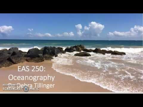 Oceanography Course Tour