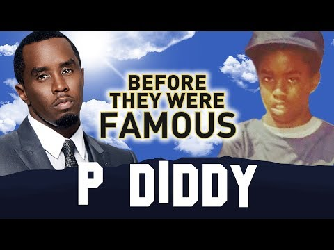 P DIDDY  Before They Were Famous  Brother Love AKA Love AKA Sean Combs AKA Puffy AKA Puff Daddy