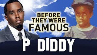 P DIDDY | Before They Were Famous | Brother Love AKA Love AKA Sean Combs AKA Puffy AKA Puff Daddy