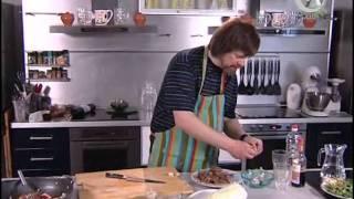 Мужская Еда - 8 - Рис, куриная печень и овощи