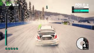 Dirt 3 played on dual core CPU with GTX 1050  on Ultra