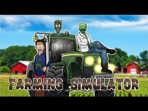 Combat de trucks - Farming Simulator 2017 #20