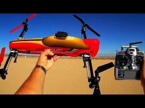 WLToys V383 Drone Test Flight Review