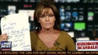 "Sarah Palin: ""I Was Not Allowed"" To Tell The Truth About Obama In 2008 (July, 26 2013)"