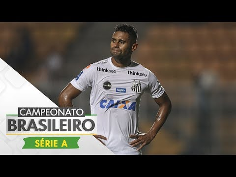 Melhores Momentos - Gols de Atlético-PR 0 x 2 Santos - Campeonato Brasileiro (11/06/2017)