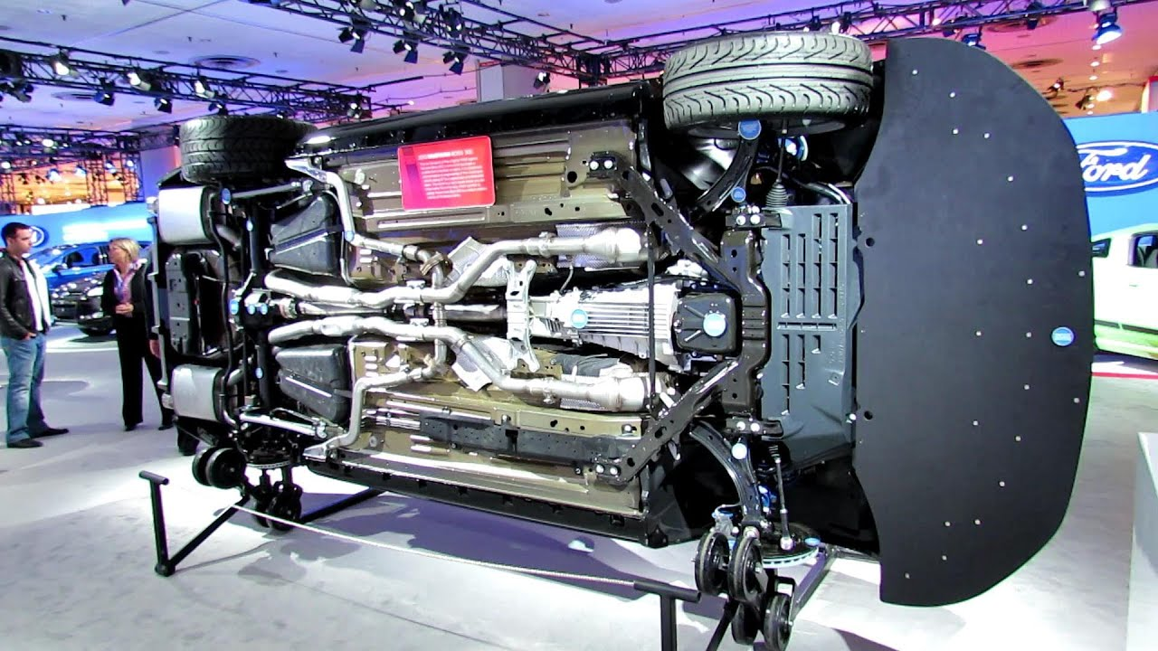 New 300 Chrysler 2016 >> 2012 Ford Mustang Boss 302 Laguna Seca Underbody detailed view 2012 New York Autoshow - YouTube