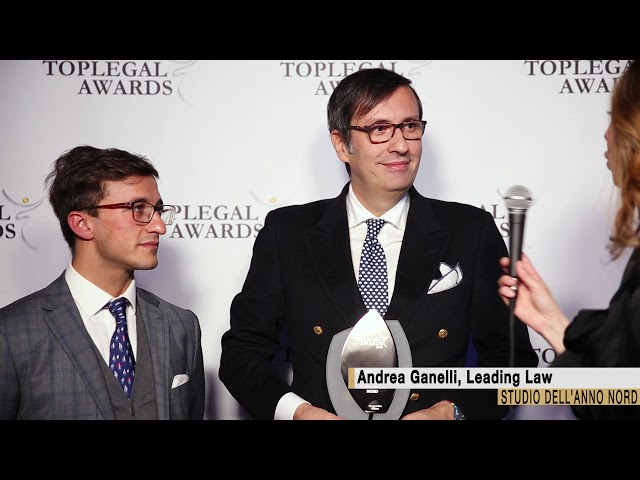 Andrea Ganelli, Leading Law - TopLegal Awards 2018