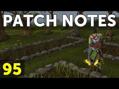 RuneScape Patch Notes #95 - 9th November 2015