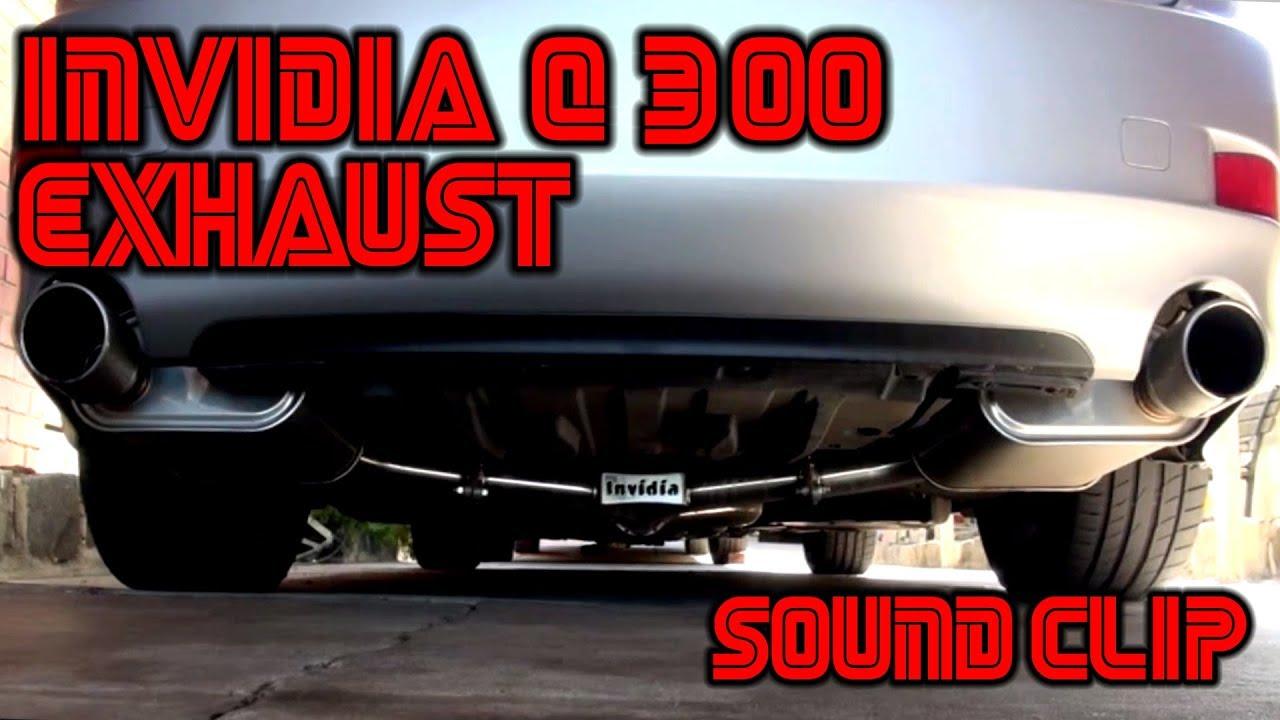 lexus is350 exhaust invidia q300