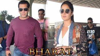 Salman Khan और Katrina Kaif हुए Bharat फिल्म की Shooting के लिए Punjab रवाना, देखिये Video