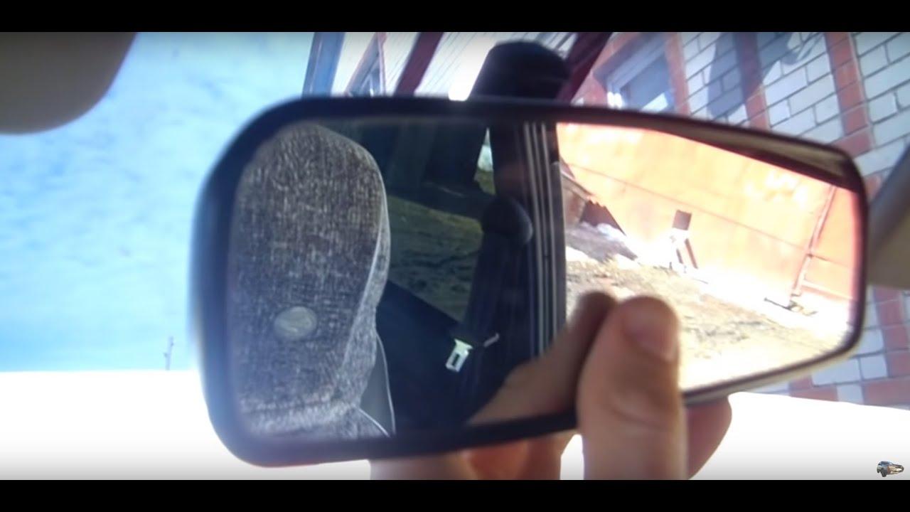 Видеорегистратор в зеркале заднего вида на ВАЗ 2101,2106,2107,2108 .