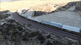 Railfanning with Model Railroad Tips #17, BNSF on Cajon Pass