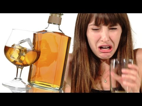 Women Drink Whiskey For The First Time
