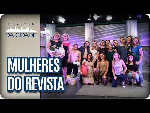 Especial Dia Da Mulher + Aniversariantes Famosos Do Dia - Revista Da Cidade (08/03/18)