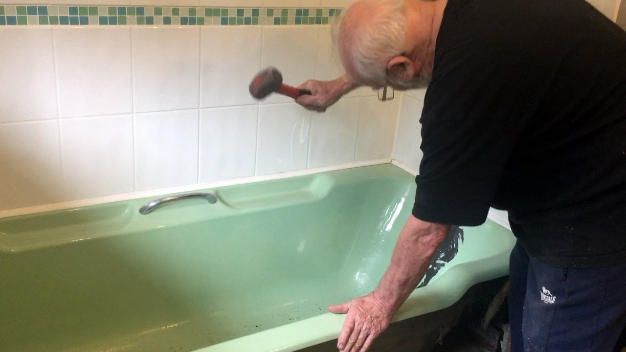 How To Remove A Cast Iron Bathtub You