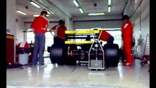 F1 1989 Gerhard Berger v12 at Valencia