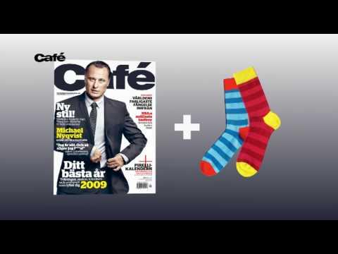 Commercial for Swedish fashion/lifestyle magazine Café