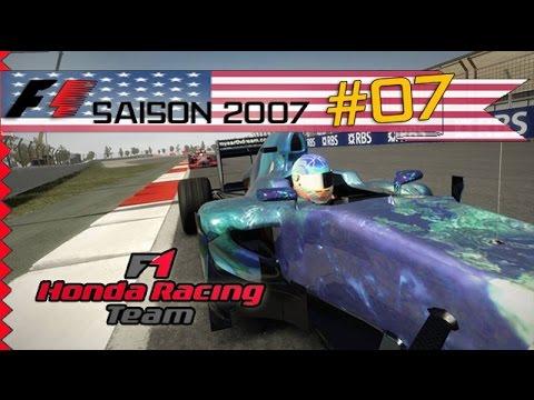 Ma carrière en F1 ! Saison 2007 (7/17) - Welcome to Texas !